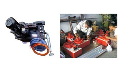 Servicing of Hydro Pneumatic Web Aligner Power Pack Unit